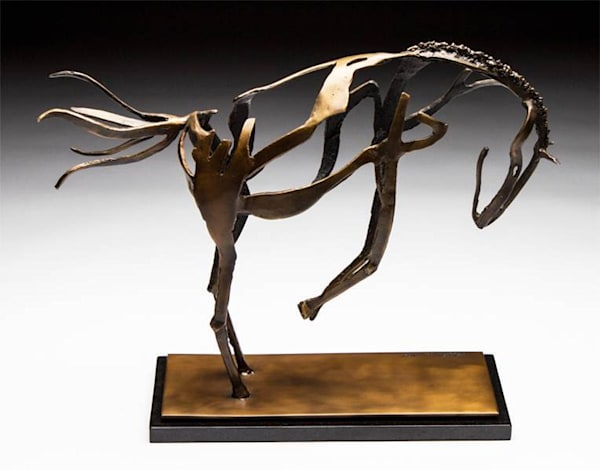Wild Horse Sculpture by Al Glann | Showboat