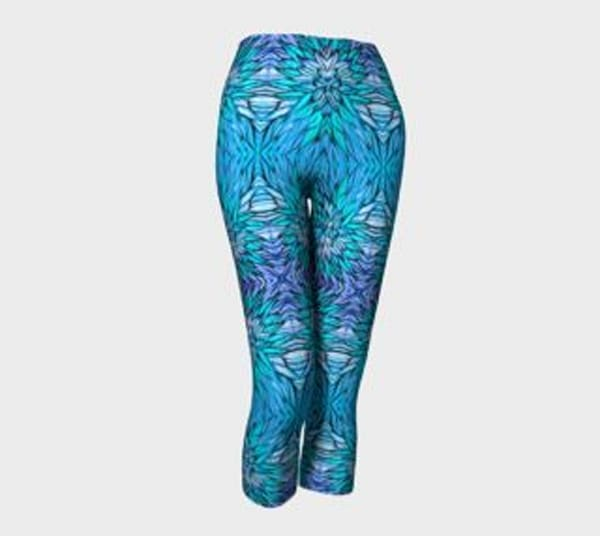 Cotton Candy Fine Art Capris by The Urban Monk