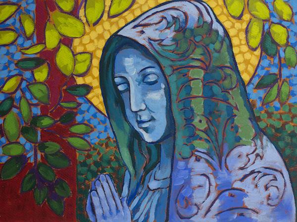 Mary, Catholic, art, paintings,