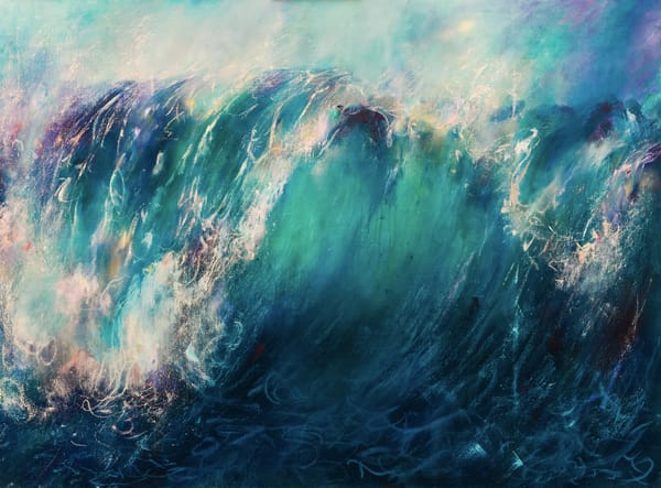 Ocean Paintings for Sale | Samantha Kaplan