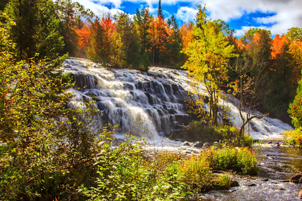 Bond Falls Autumn - Fall Color Photography | William Drew