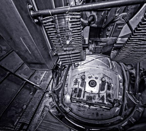 B-17 Bomber Warbird Historic Fortress Monochrome fleblanc