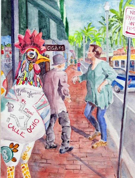 Calle Ocho, Little Havana Art | David Beale