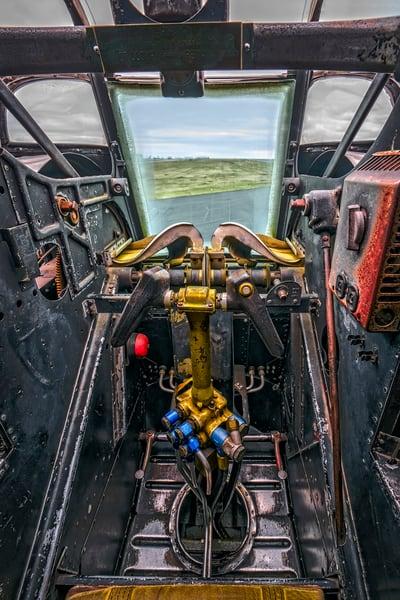B-24 WW2 War Liberator Witchcraft Warplane Antique fleblanc