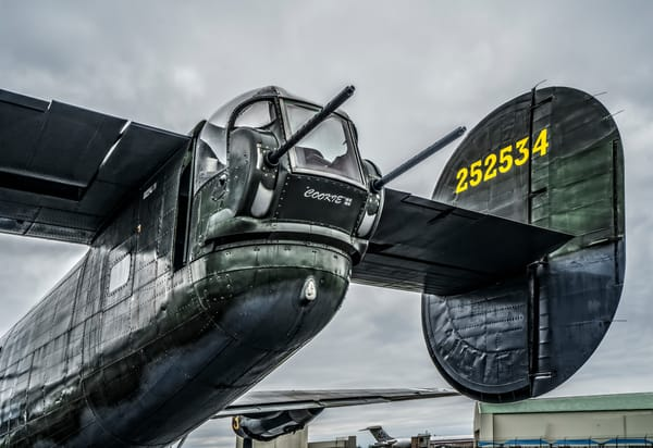 B-24 WW2 War Bomber Witchcraft combat warbird fleblanc
