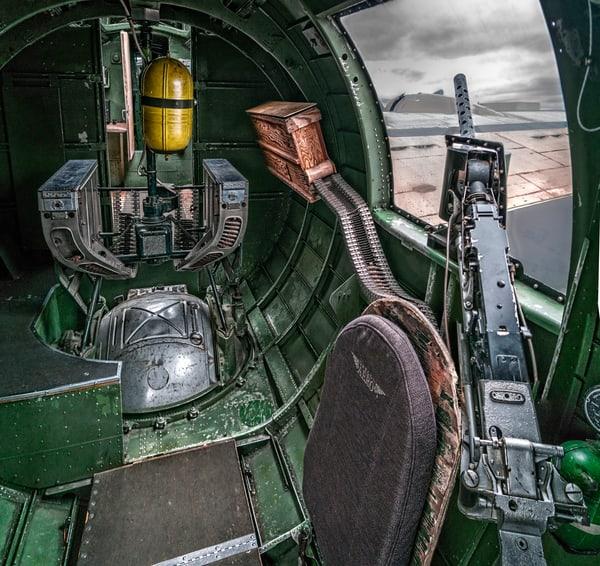 B-24 WW2 War Bomber Witchcraft combat Warplane fleblanc