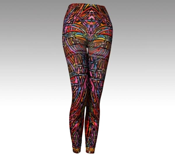 BMBW Sunrise Fine Art Leggings