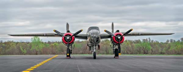 B-25 Mitchell WW2 USAF war aircraft Restored Tondelayo fleblanc