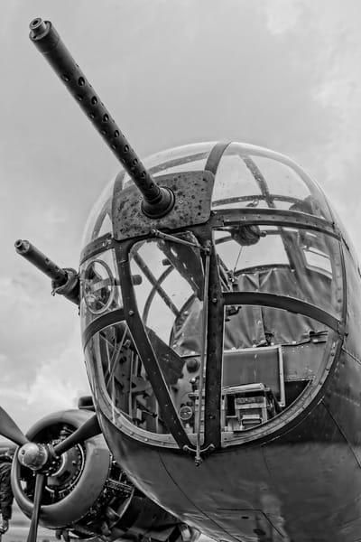 B-25 Mitchell WW2 Historic Tondelayo Monochrome fleblanc