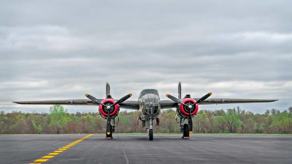 B-25 Mitchell WW2 USAF Vintage Tondelayo Historical fleblanc