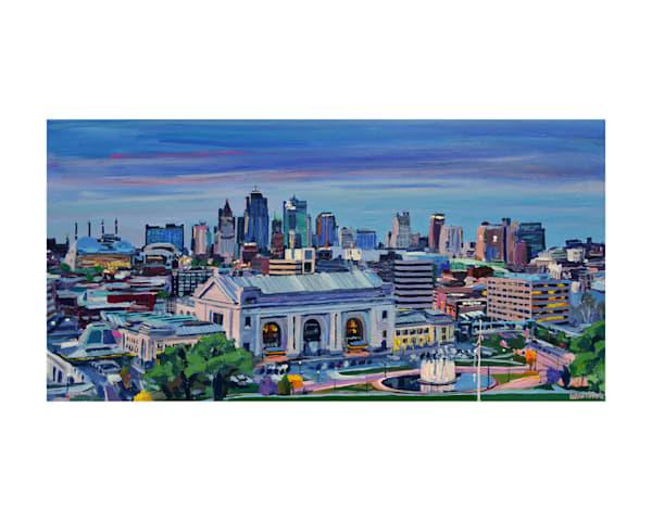 Kansas City Skyline Painting