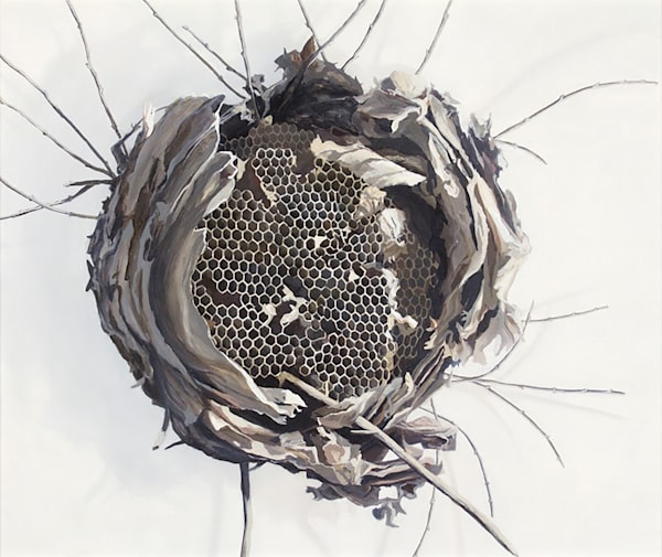 Get extraordinary art like Untitled (Hive) by Heidi Hogden at Matt McLeod Fine Art Gallery.