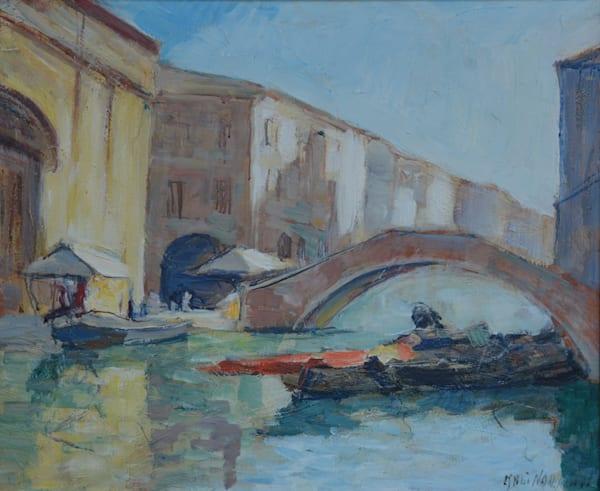 SOLD - Venice Canal Scene