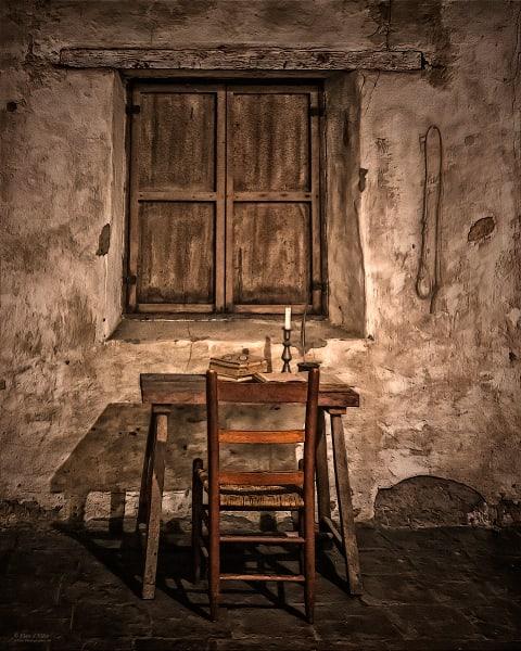 Monk's Cell | d'Ellis Photographic Art photographs, Elsa