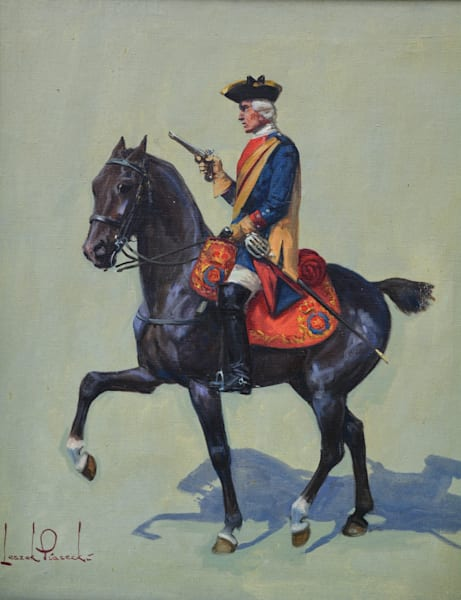Horse And Soldier Art | CobaltHouse.com
