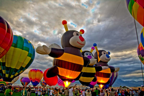 D'Ellis PhotographicArt, Bill & Elsa|Fine art photographs - Hot Air Balloons
