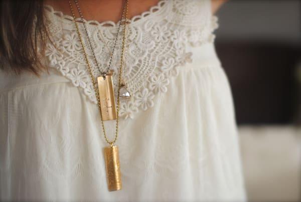 Healer Inspiration Bar Necklace