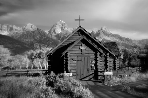 Chapel of Transfiguration by JP Sullivan - fine art print - photography - Grand Tetons