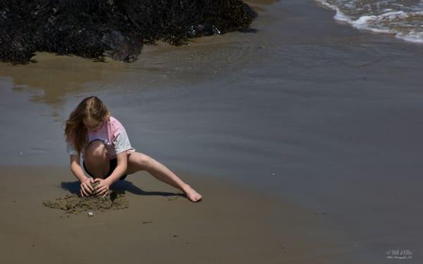 Building Sandcastles, d'Ellis Photographic Art photographs, Bill