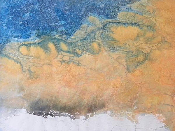 "Ocean Art - ""Io Sunrise"" painting by Sarah Hanson"
