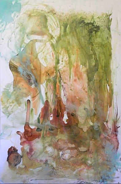 "Ocean Art - ""Laguna Luna"" painting by Sarah Hanson"