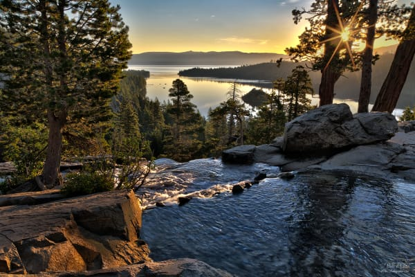 Photo of Dawn At Emerald Bay, d'Ellis Photographic Art photographs, Bill