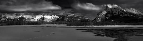 Vermilion Lakes Spring thaw. Banff National Park|Rocky Mountains|Canadian Rockies|