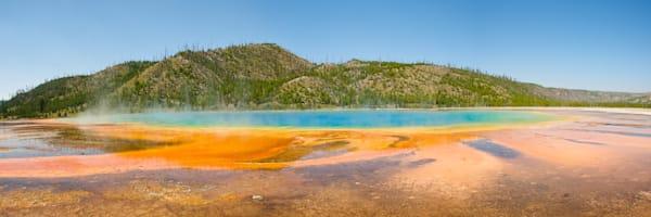 Yellowstone Grand Prismatic Art & Photographs