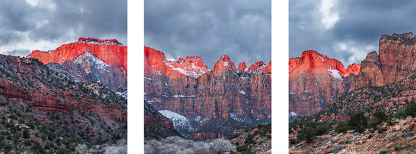 Towers of the Virgin in Zion National Park