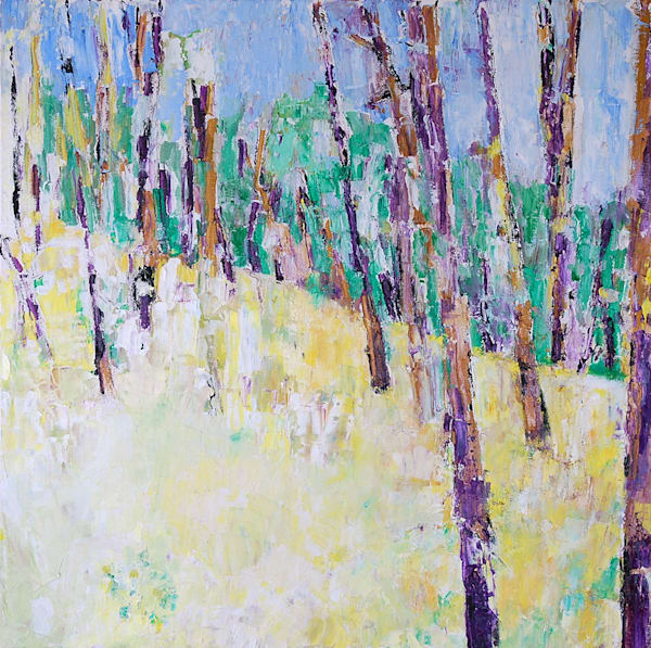 Forest With Color Art | Fountainhead Gallery