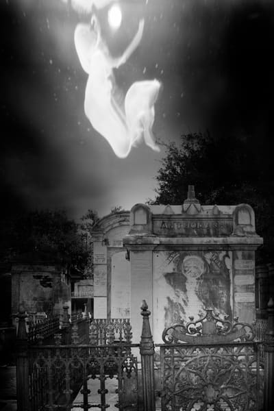 Purchase this photograph Go to the Light from a graveyard in New Orleans.