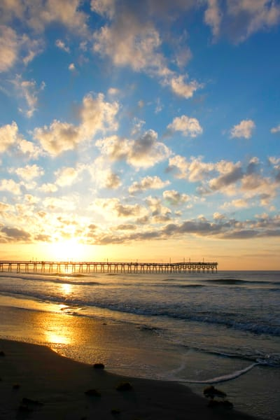 Purchase this photograph Sunrise at the Pier.