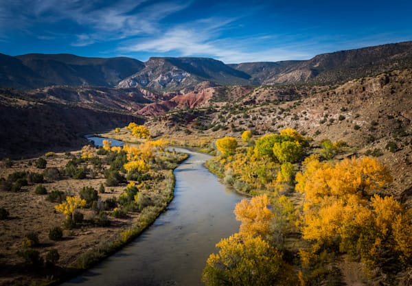 Autumn, Chama River, Landscape, Photography, Southwest, New Mexico, Fall