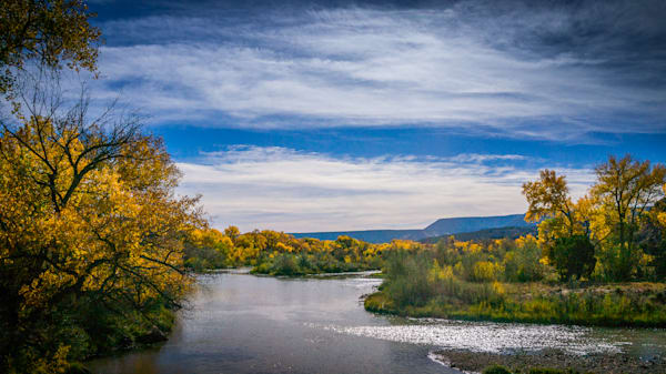 Autumn, Chama RIver, Landscape, New Mexico, Photography, Southwest,