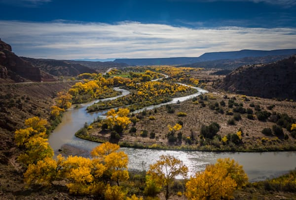 Autumn, Chama RIver, Landscape, New Mexico, Photography, Southwest