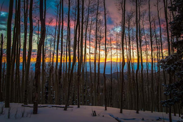 Aspens, Landscape, Photography, Sangre de Christo mountains, Santa Fe, sunset, Jemez Mountains, New Mexico