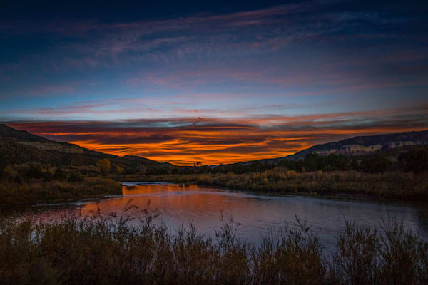 Autumn, Chama RIver, Landscape, Photography, Southwest, sunrise, river, New Mexico, dawn