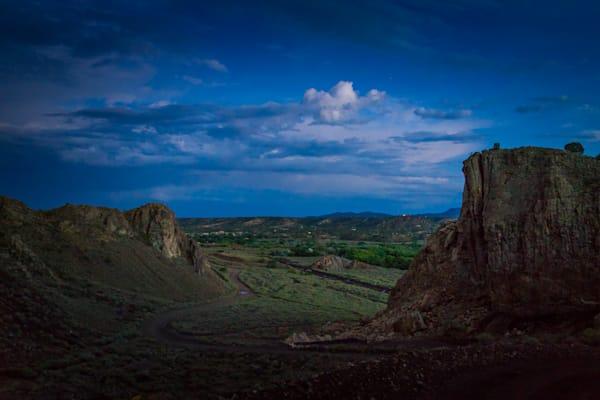 Photography, nocturne, nightscape, New Mexico, Cerrillos, Southwest, dusk,