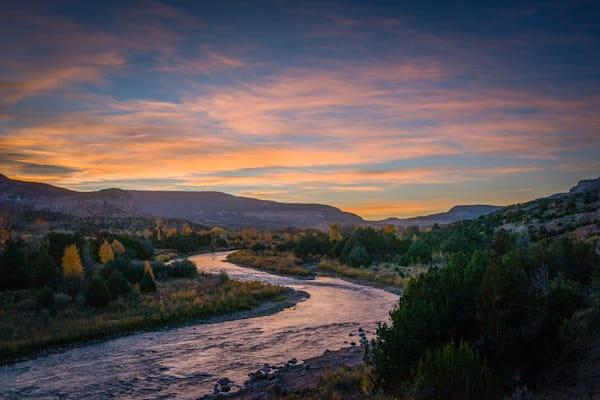 Sunset Chama River Canyon   Art | jonathankeeton