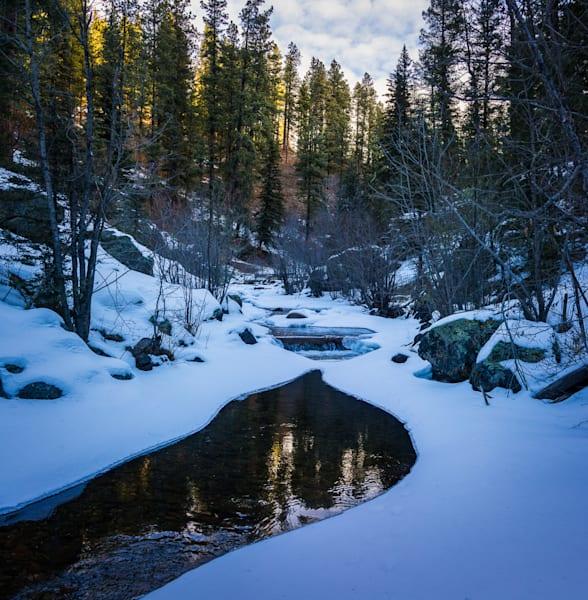 Winter Pecos River 02  Art   jonathankeeton