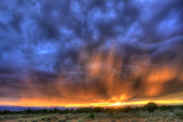 Hamlin Valley Sunset Storm Photography Art | Mason & Mason Images