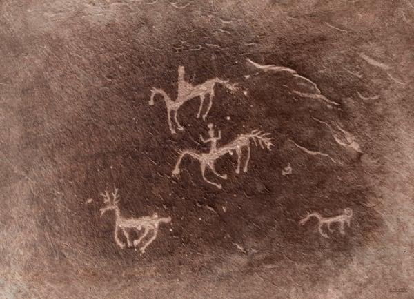 Petroglyphs - Canyon De Chelly | d'Ellis Photographic Art photographs, Elsa