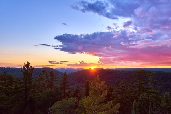 Sunset From Bald Mt Fire Tower