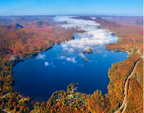 4th Lake Fall Aerial