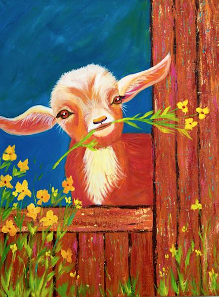 Happy Little Goat