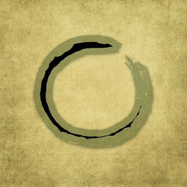 Seeking Enso Art paintings for sale | Grimalkin Studio