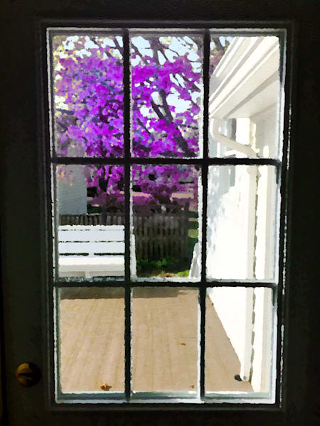 View from a Door
