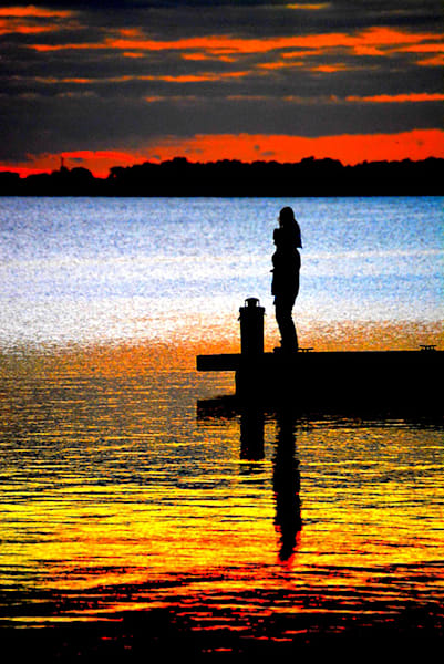 Together at End of Day by Nancy Pallowick an American photographer.