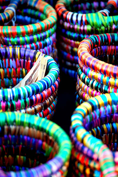 Coiled Baskets by Nancy Pallowick an American photographer.