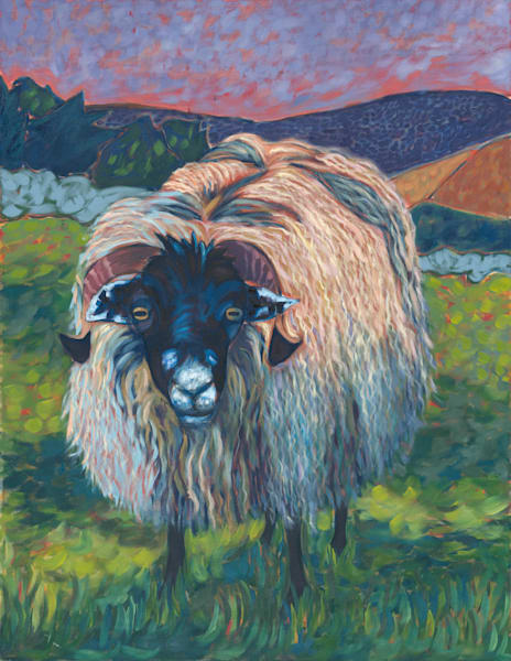 animals, sheep, art, paintings, prints,